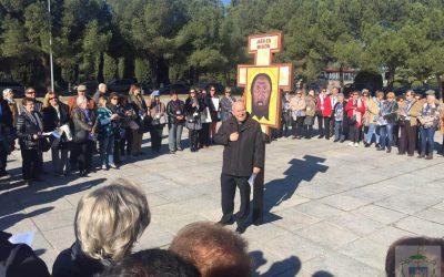 El corazón de la Diócesis late ante el monumento al Corazón de Jesús de Getafe
