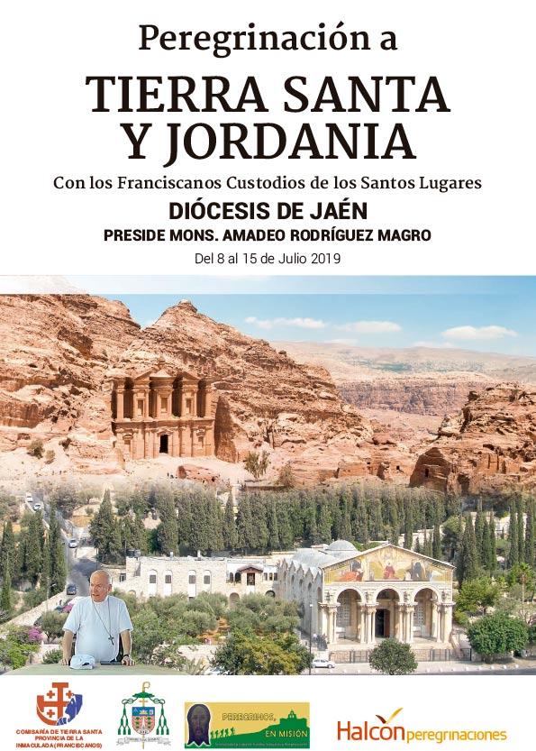 Peregrinación diocesana de Jaén a Tierra Santa y Jordania