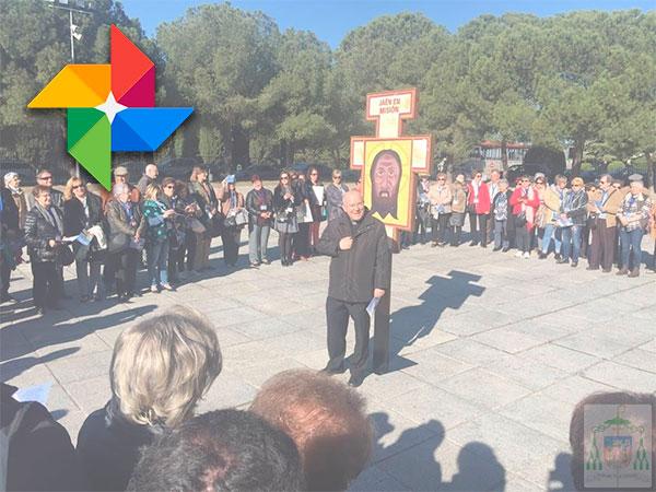 Peregrinación diocesana de Jaén al Cerro de los Ángeles. Álbum en Google photos