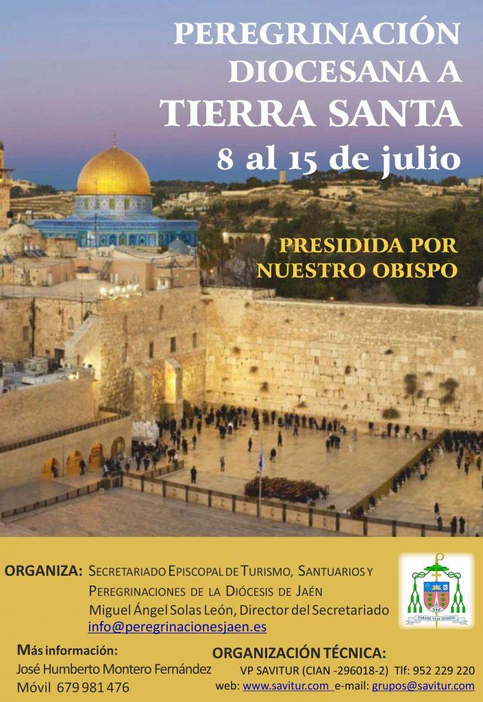 Peregrinación diocesana de Jaén a Tierra Santa 8-julio-2018