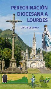 Peregrinación diocesana de Jaén a Lourdes 2019: cartel