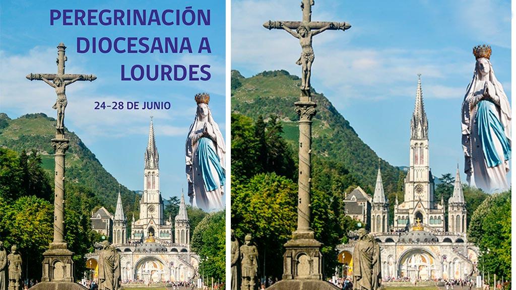 Peregrinación diocesana a Lourdes (programa)