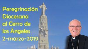 Peregrinación diocesana de Jaén al Cerro de los Ángeles