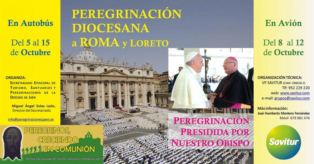 Peregrinación diocesana de Jaén a Roma y Loreto